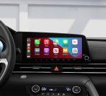 Hyundai Elantra 2022 México interior pantalla de 10.25 pulgadas
