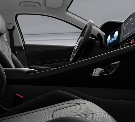 Hyundai Elantra 2022 México interior