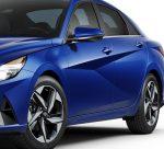 Hyundai Elantra 2022 México lateral rines