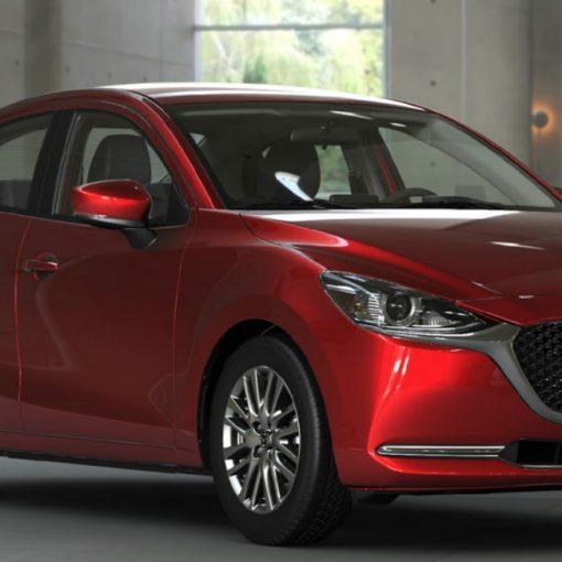 Mazda 2 sedán 2021 en México