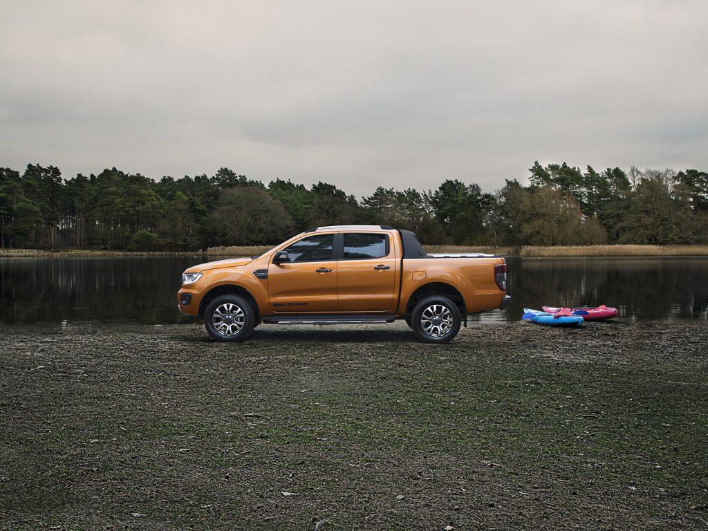 Ford Ranger Wildtrak 2021 en México - diseño exterior lateral