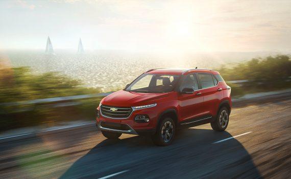 Chevrolet Groove 2022 en México pronto - diseño exterior