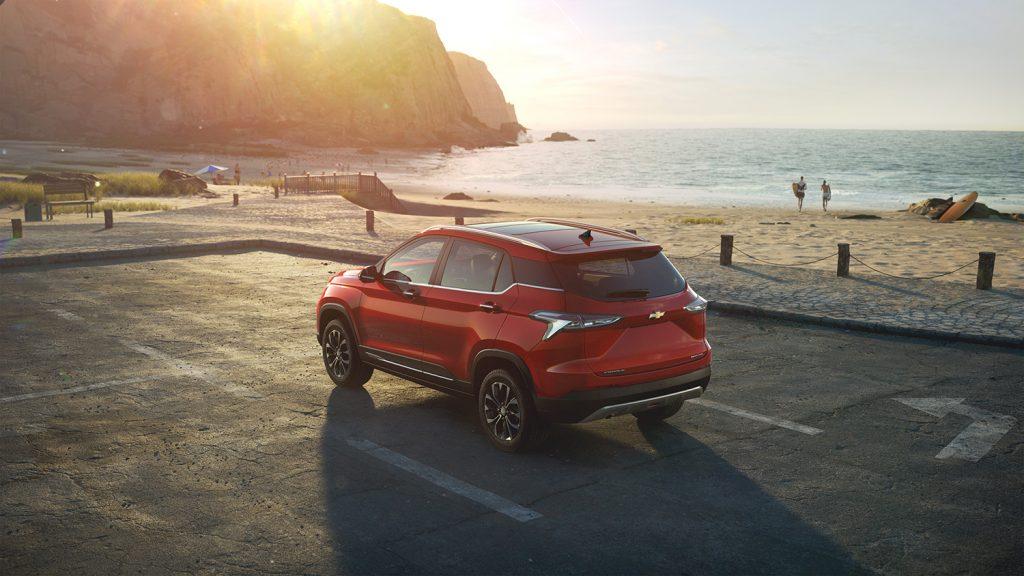 Chevrolet Groove 2022 en México pronto - diseño exterior parte posterior