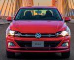 Volkswagen Virtus 2022 México color rojo exterior frente