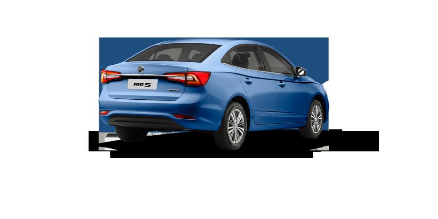 MG 5 2021 en México color azul posterior