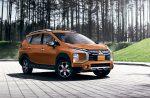 Mitsubishi Xpander Cross 2022 en México color naranja