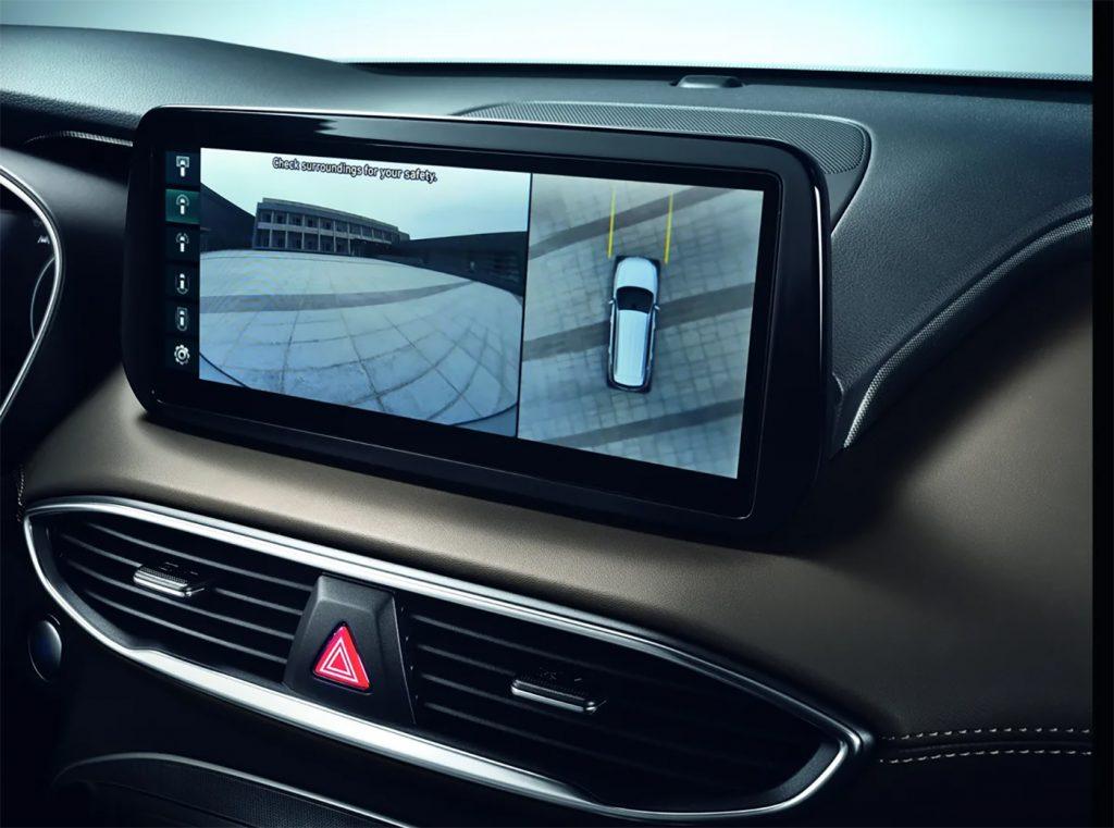 Hyundai Santa Fe 2022 en México, pantalla touch 10.25 pulgadas