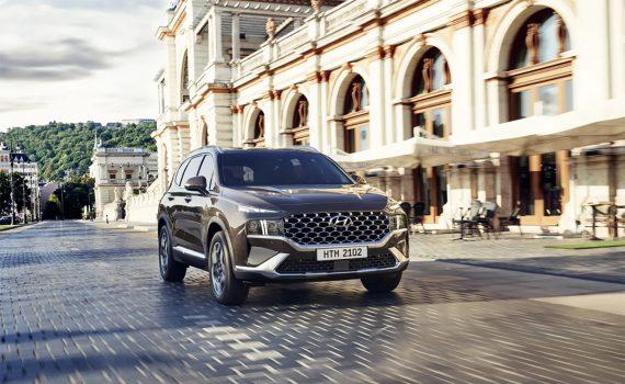 Hyundai Santa Fe 2022 en México - exterior nuevo frente