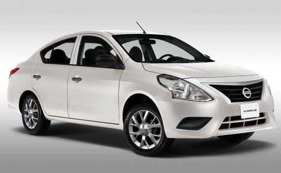 Nissan V Drive 2022 en México color blanco