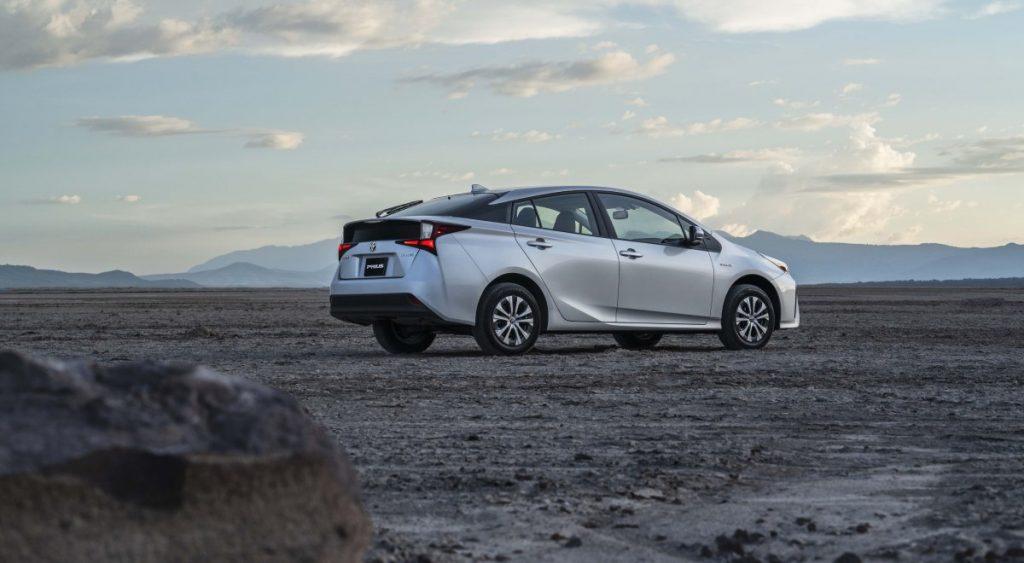 Toyota Prius 2022 en México color plata