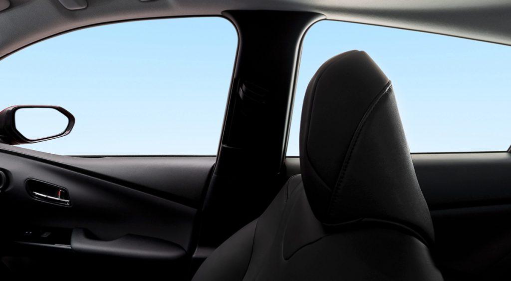 Toyota Prius 2022 en México interior asientos