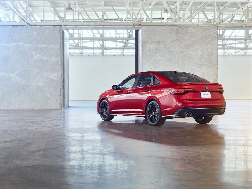 Volkswagen Jetta 2022 en México - exterior posterior lateral