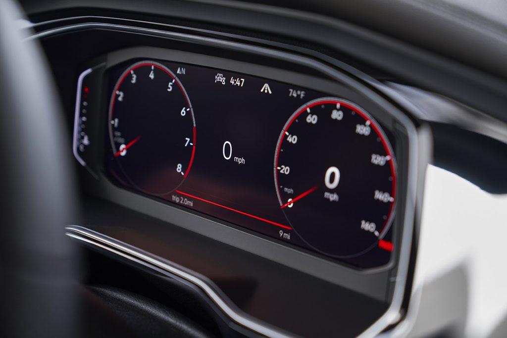 Volkswagen Jetta 2022 en México - Clúster digital a color