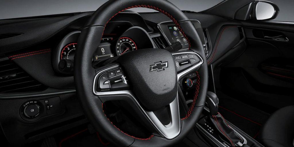 Chevrolet Cavalier RS Turbo 2022 volante con controles