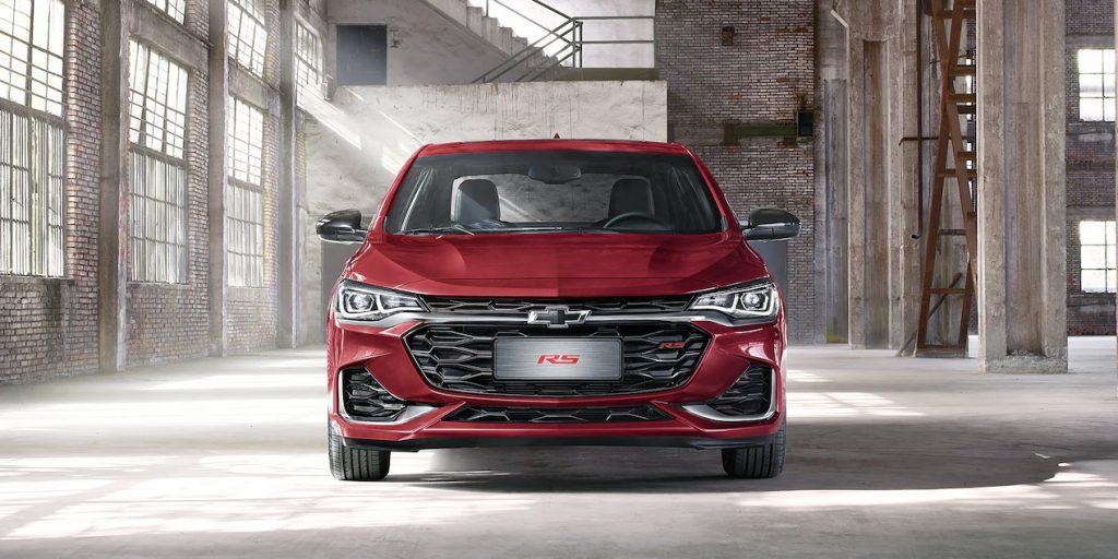 Chevrolet Cavalier RS Turbo 2022 exterior nuevo frente con faros LED