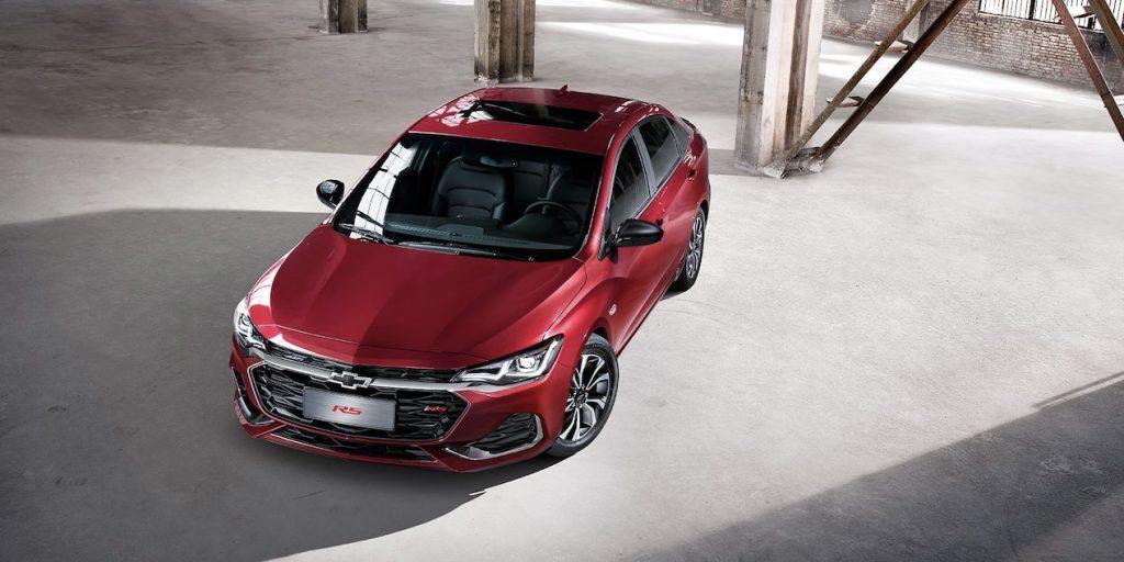 Chevrolet Cavalier RS Turbo 2022 exterior nuevo diseño