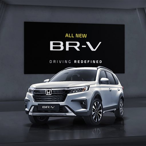 Honda BR-V 2022 frente