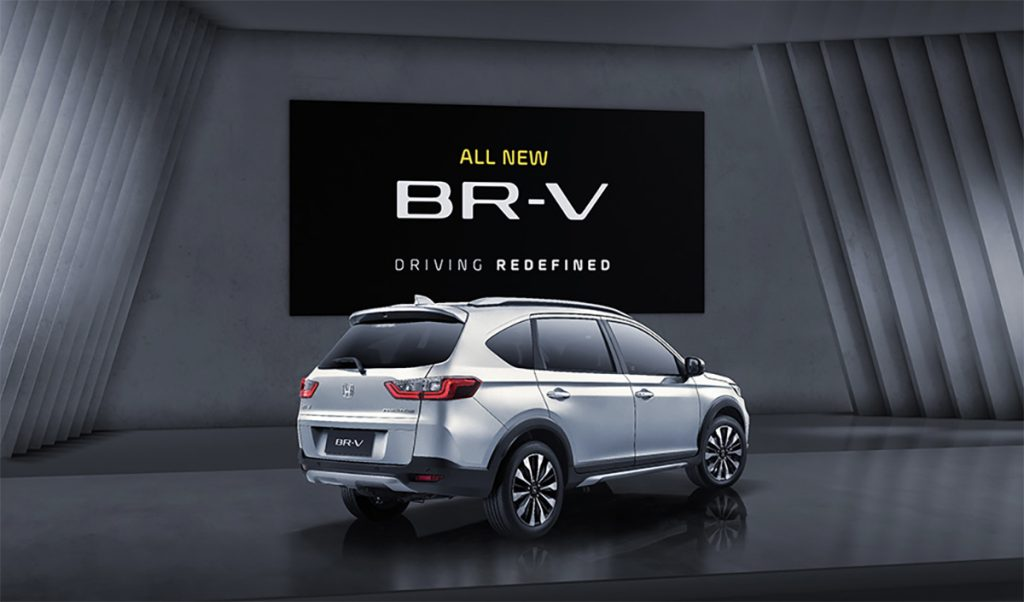 Honda BR-V 2022 posterior