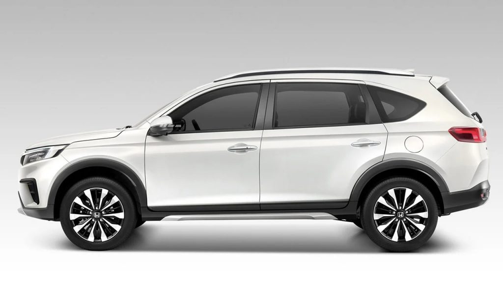 Honda BR-V 2022 lateral color blanco