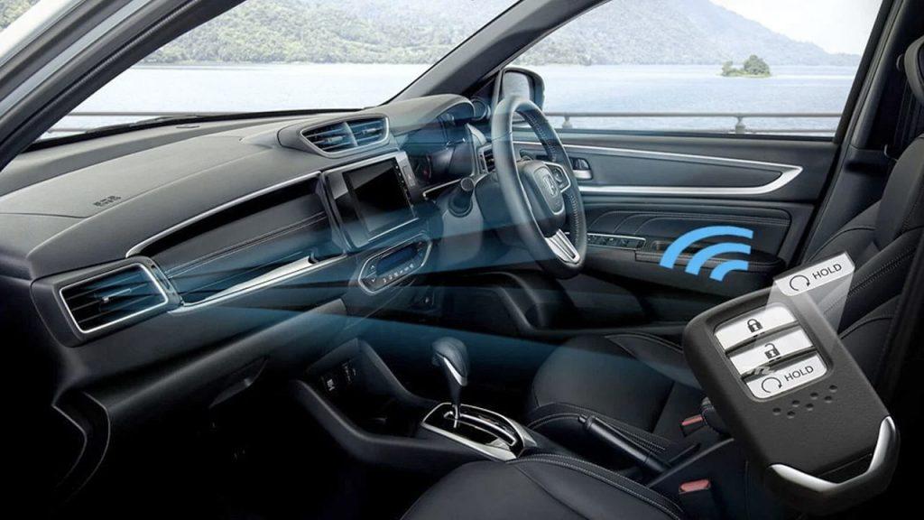 Honda BR-V 2022 interiores