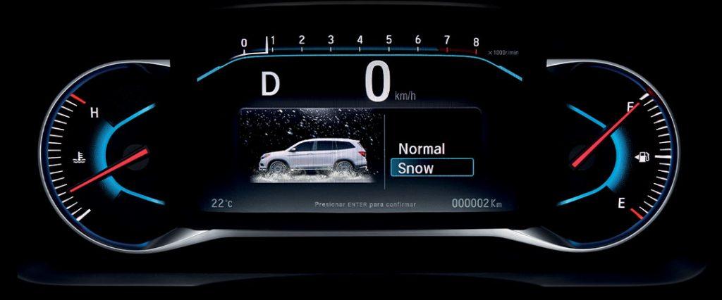 Honda Pilot 2022 en México pantalla con computadora de viaje