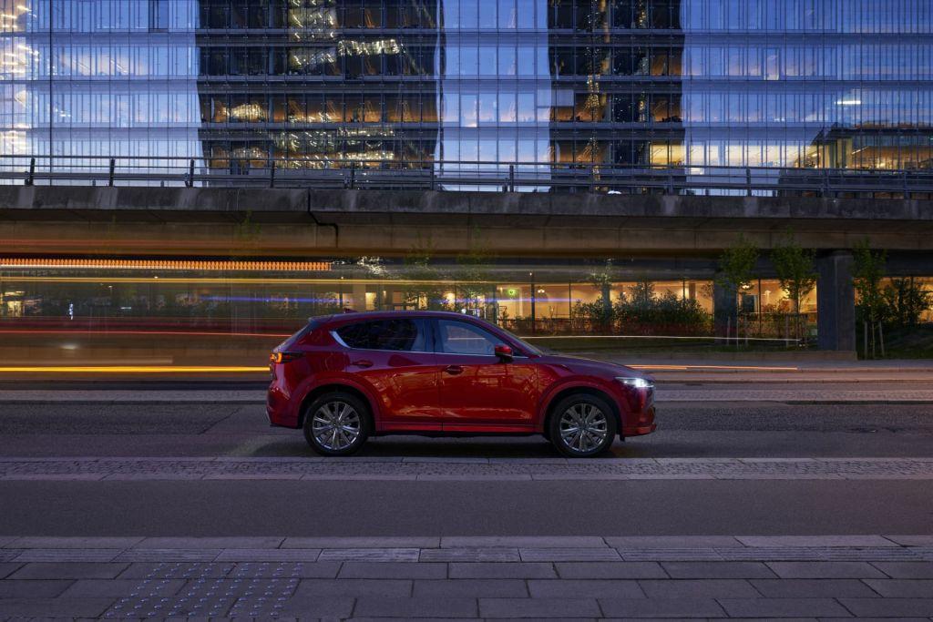 Mazda CX-5 2022 lateral diseño