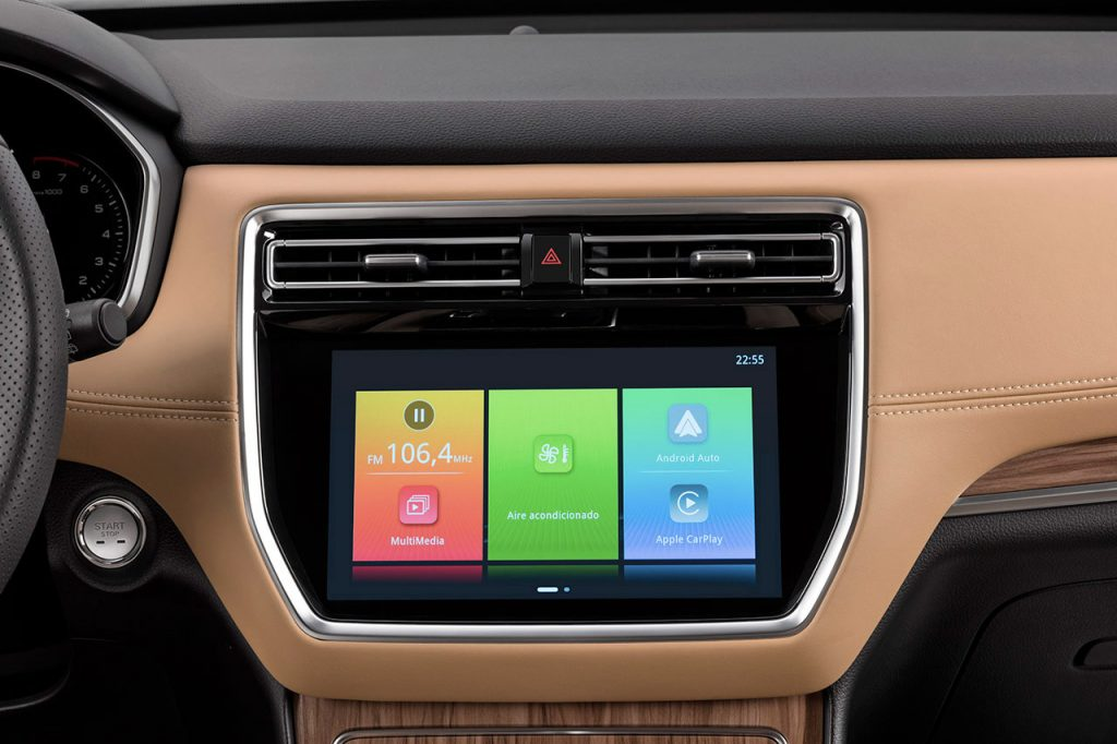 MG RX-8 2022 en México edición limitada de aniversario - pantalla touch