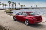 Nissan Versa 2021 en México color rojo
