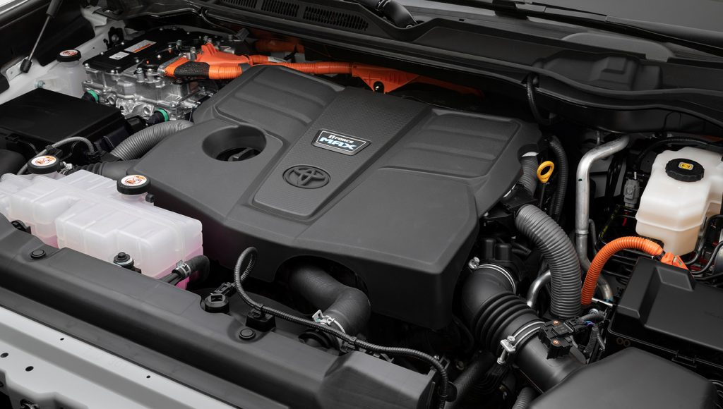 Toyota Tundra 2022 motor potente biturbo