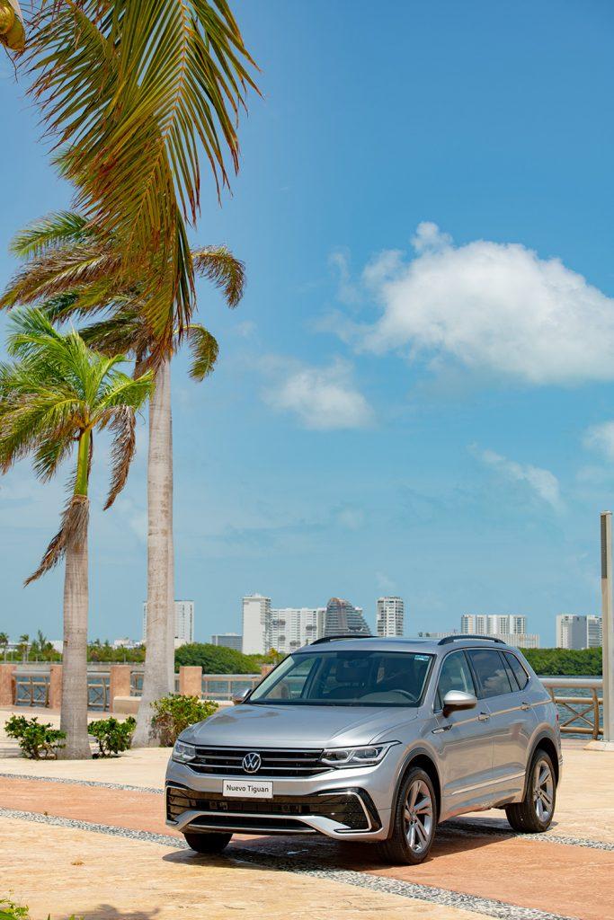 Volkswagen Tiguan 2022 en México Cancún nuevo diseño