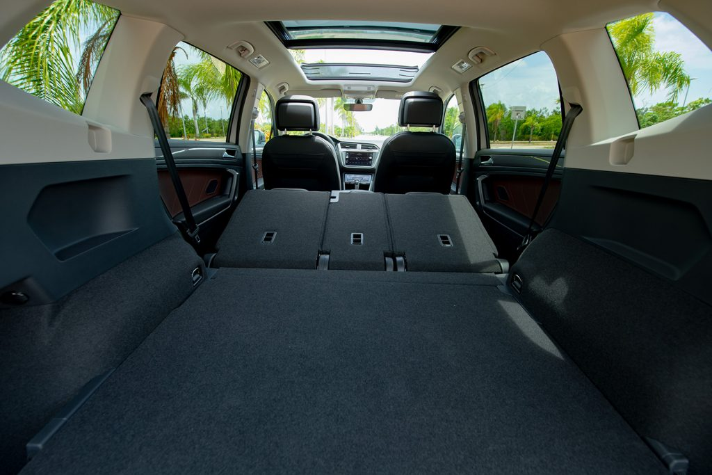 Volkswagen Tiguan 2022 en México - interior asientos reclinables