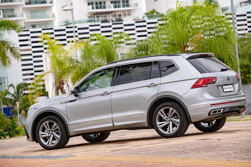 Volkswagen Tiguan 2022 en México - diseño exterior lateral