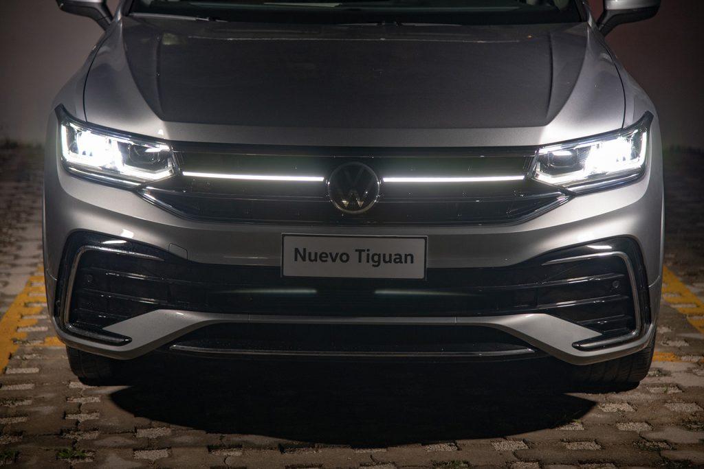 Volkswagen Tiguan 2022 en México - diseño exterior frente faros LED