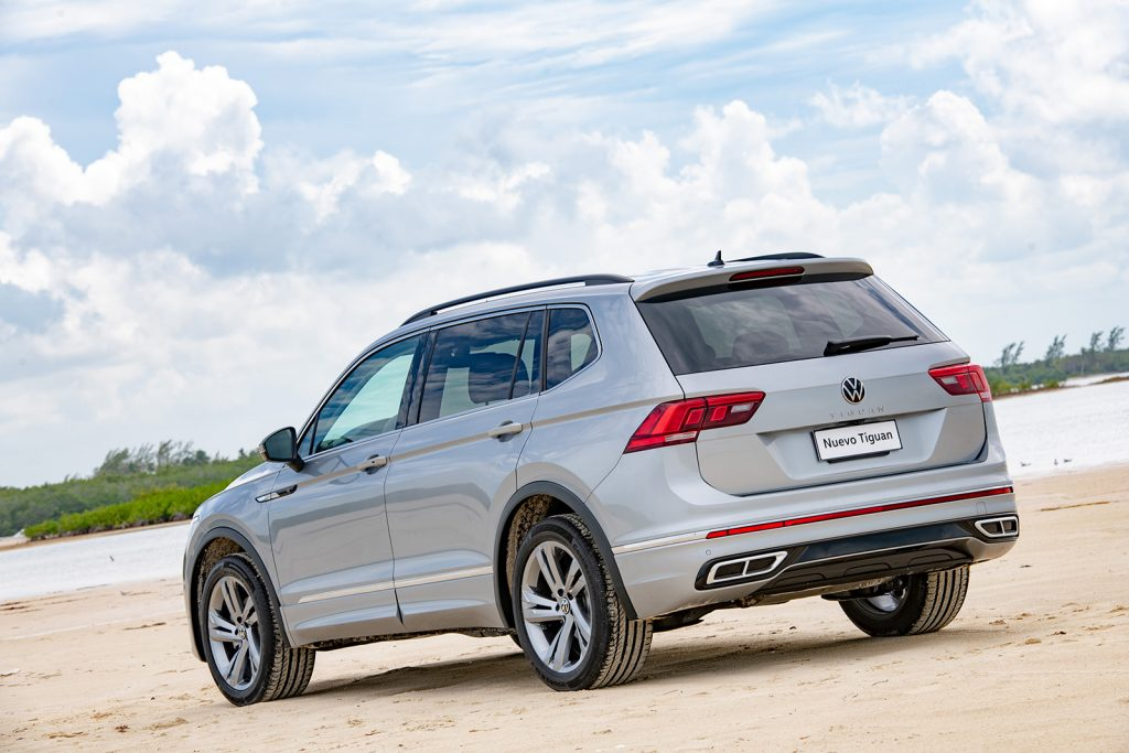 Volkswagen Tiguan 2022 en México - diseño exterior posterior
