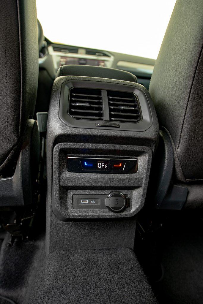 Volkswagen Tiguan 2022 en México - interior consola