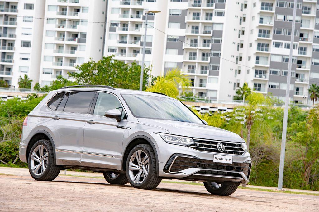 Volkswagen Tiguan 2022 en México - diseño exterior lateral derecho