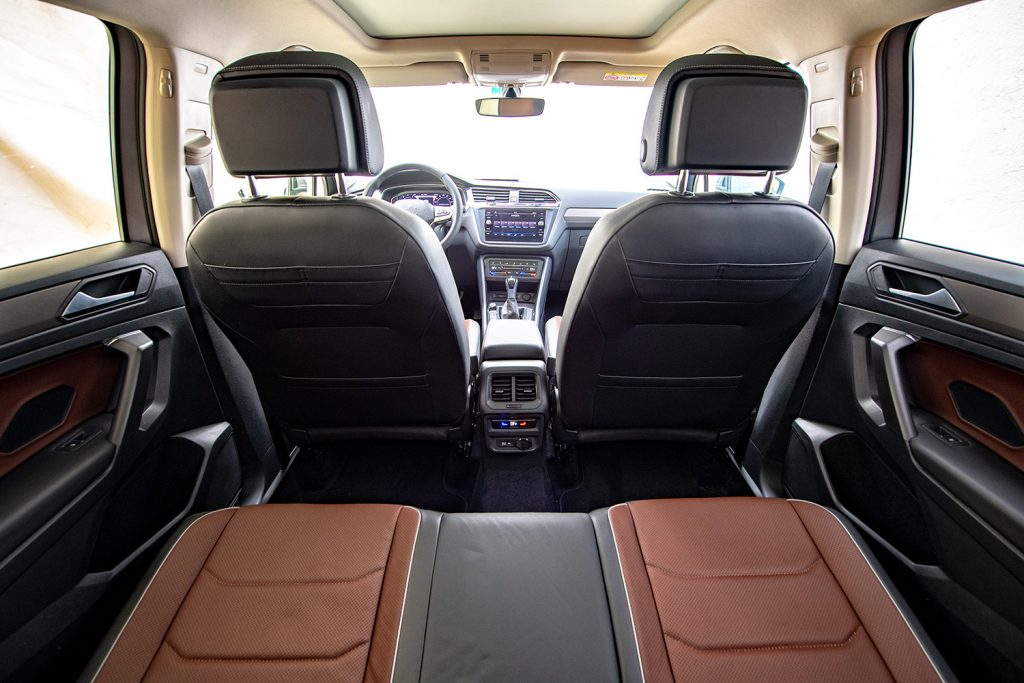 Volkswagen Tiguan 2022 en México - interior asientos