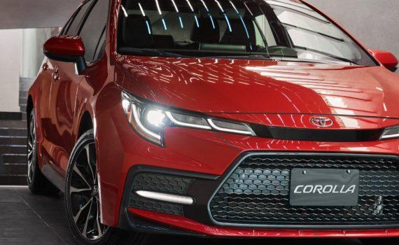 Toyota Corolla 2022 en México color rojo