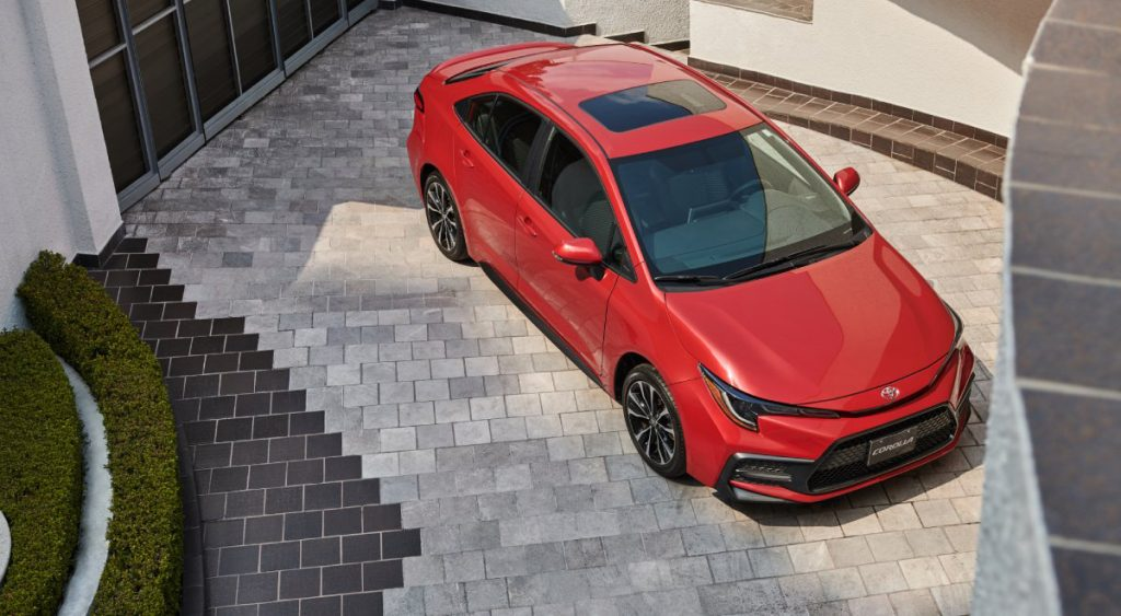 Toyota Corolla 2022 en México diseño exterior