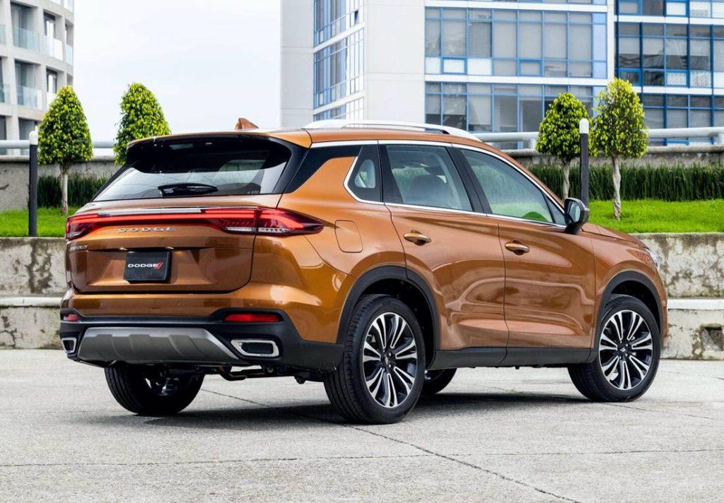 Dodge Journey 2022 en México nuevo diseño parte posterior
