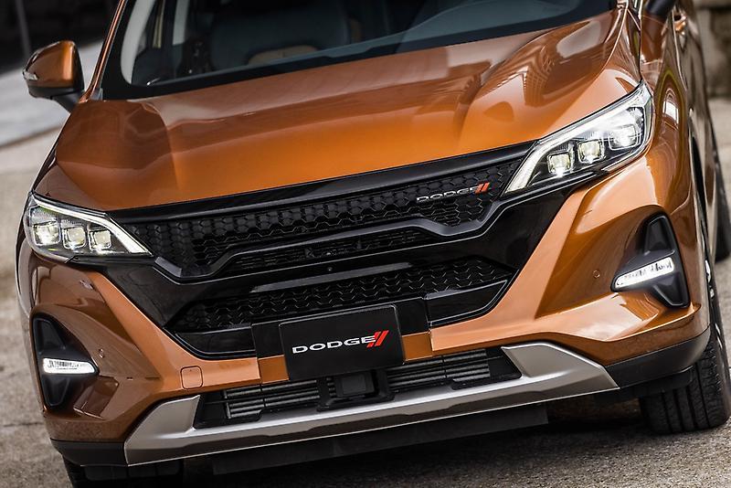 Dodge Journey 2022 en México nueva amplia parrilla color negro