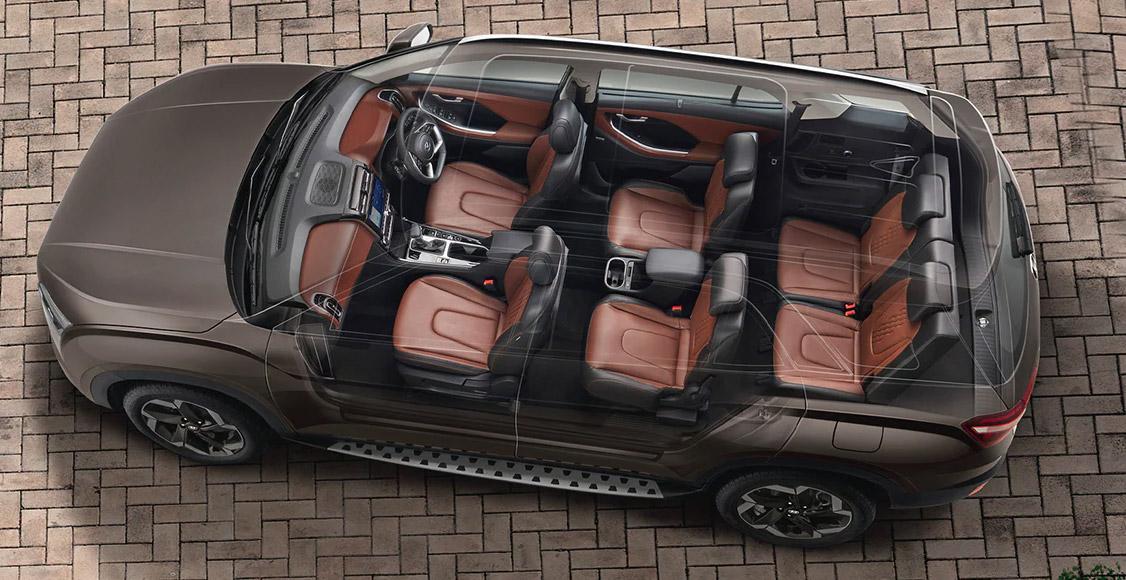 Hyundai Creta Grand 2022 tres filas de asientos