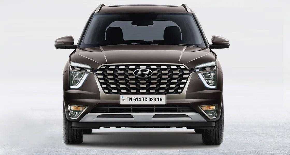 Hyundai Creta Grand 2022 frente parrilla