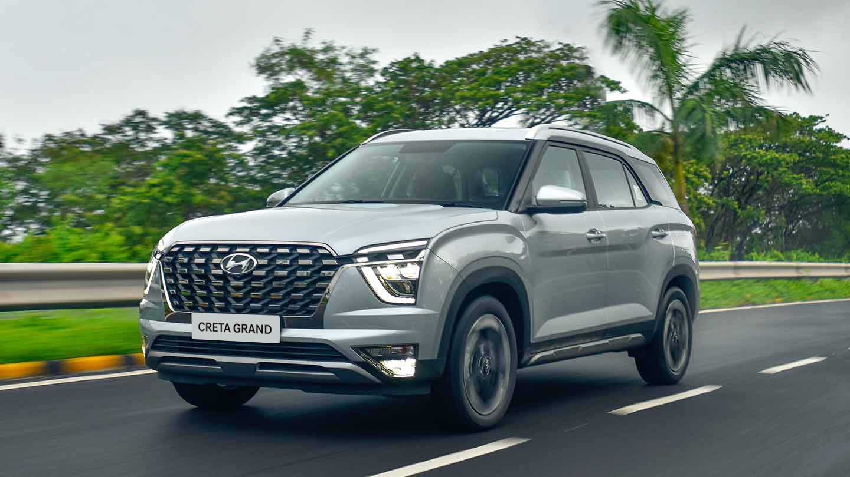 Hyundai Creta Grand 2022 México en carretera