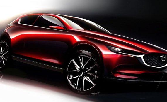 Mazda boceto sketch de nueva SUV CX-50 2022